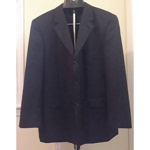 DONALD TRUMP SIGNATURE COLLCTN Blk Sports Jacket